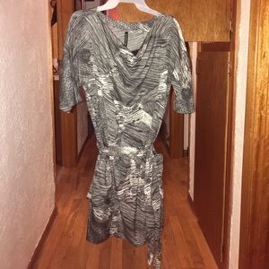 Graphic casual dress